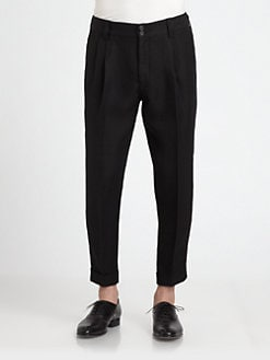 Dolce & Gabbana - Flax Tapered-Leg Pants