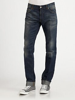 Dolce & Gabbana - Dirty Washed Denim Jeans
