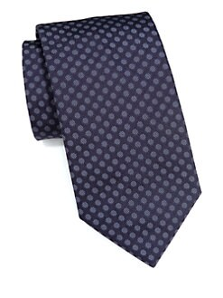 Armani Collezioni - Neat Dotted Circle Tie