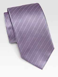 Armani Collezioni - Striped Silk Tie