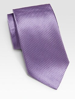 Armani Collezioni - Solid Silk Tie