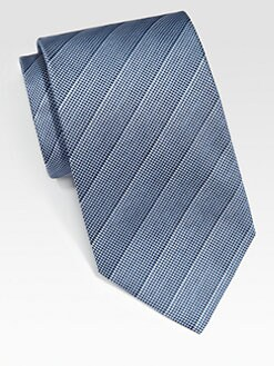 Armani Collezioni - Textured Silk Tie