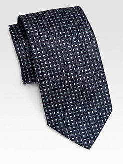 Armani Collezioni - Open Dot Silk Tie