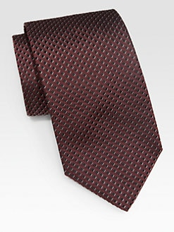 Armani Collezioni - Diagonal Box Silk Tie