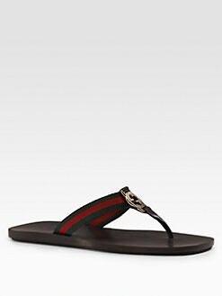 Gucci - GG Thong Sandals