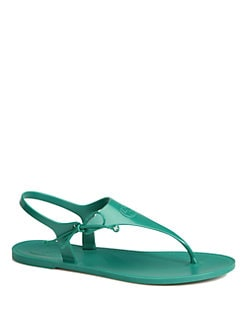 Gucci - Katina Rubber Thong Sandals