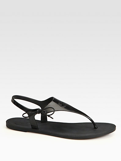 810873d787b1 Gucci Katina Rubber Thong Sandals on PopScreen
