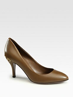 Gucci - Elizabeth Leather Pumps
