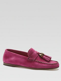 Gucci - Suede Moccasins