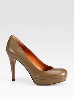 Gucci - Betty Leather Pumps