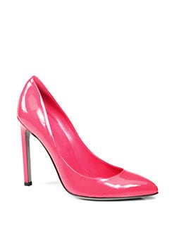 Gucci - Gloria Patent Leather Pumps