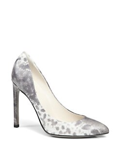 Gucci - Gloria Karung Lamb Leather Pumps