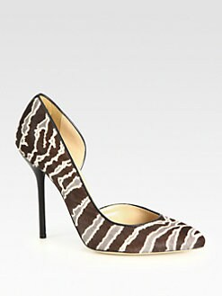 Gucci - Noah Calf Hair d'Orsay Pumps