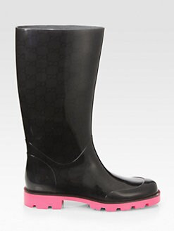 Gucci - GG Bicolor Rain Boots