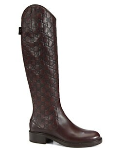 Gucci - Maud Tall Leather Boots