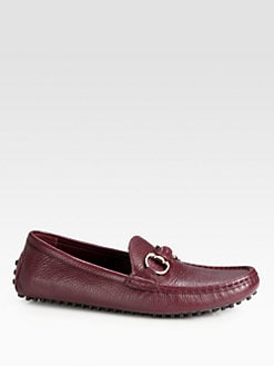 Gucci - Damo Leather Loafers