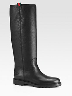 Gucci - Saint Moritz Leather Boots