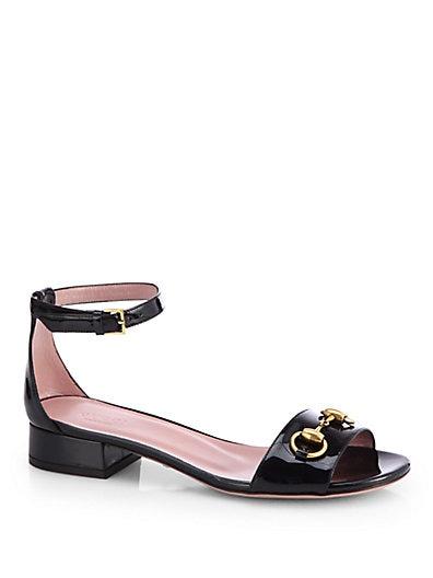 Liliane Patent Leather Sandals