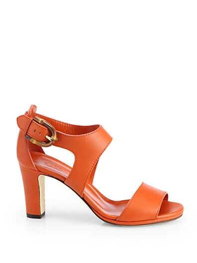 Nadege Leather Strappy Sandals