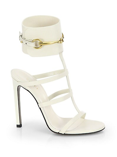 Ursula Leather Cage Sandals