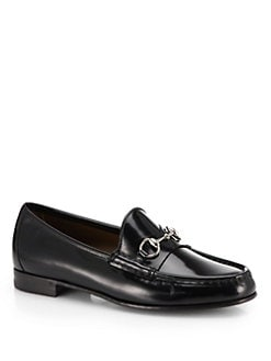 Gucci - Regent Leather Frame Driving Loafers