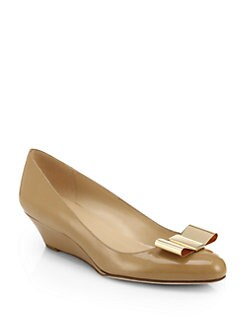 Kate Spade New York - Roxana Patent Leather Wedge Pumps
