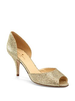 Kate Spade New York - Sage Glitter d'Orsay Pumps