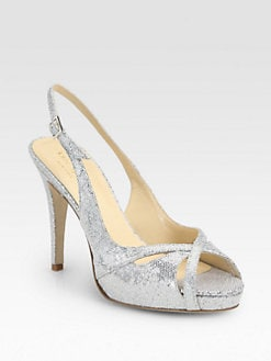 Kate Spade New York - Genna Glitter Slingback Pumps