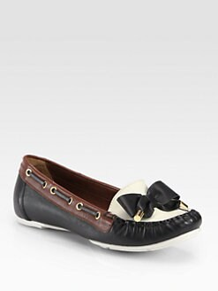 Kate Spade New York - Wren Colorblock Leather Boat Shoes