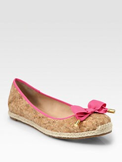 Kate Spade New York - Valerie Bow Cork Espadrilles