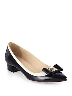 Kate Spade New York - Anika Patent Leather Bow Pumps