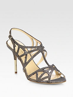 Kate Spade New York - Issa Lurex Cage Sandals