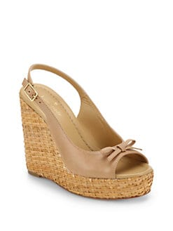 Kate Spade New York - Della Platform Wedge Sandals