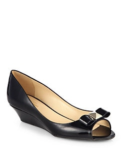 Kate Spade New York - Tenor Patent Leather Wedges