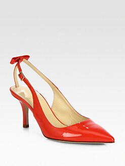 Kate Spade New York - Jive Patent Leather Slingback Pumps