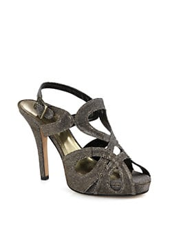 Kate Spade New York - Radical Glitter Platform Sandal