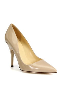Kate Spade New York - Licorice Patent Leather Pumps