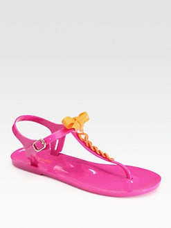 Kate Spade New York - Farren Bow Thong Sandals