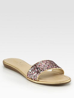 Kate Spade New York - Tulip Glitter Sandals