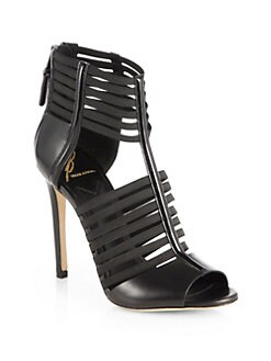 B Brian Atwood - Langden Strappy Leather Sandals