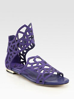 B Brian Atwood - Antonella Suede Sandals
