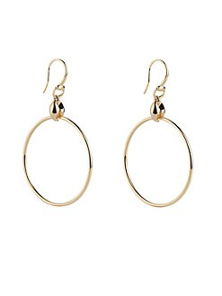 Gucci - 18K Yellow Gold Hoop Earrings