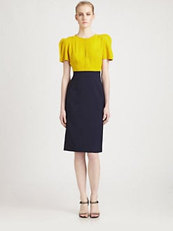 Fendi - Colorblock Dress