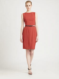 Fendi - Peplum Back Dress