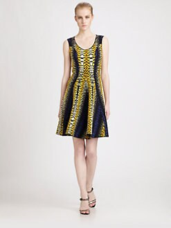 Fendi - Trumpette Dress