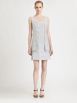 Fendi - Cotton/Silk Tweed Dress