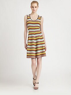 Fendi - Striped Dress
