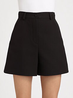 Fendi - Double Crepe Shorts