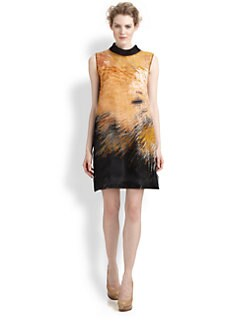 Fendi - Silk Big Bang Dress