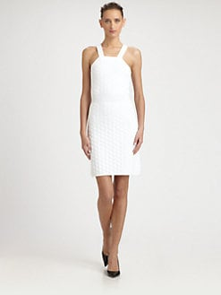 Fendi - Honeycomb Knit Dress